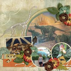 GingerScraps :: Kits :: Prehistoric World