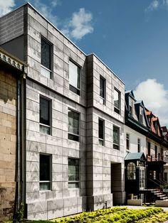 Résidence Edison / McGill University / portes Milton, Montréal, Canada / KANVA