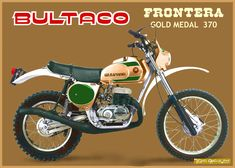 Bultaco Motorcycles, Street Motorcycles, Enduro Motorcycle, Motorcycle Posters, Motocross Bikes, Motorcycle Art, Vintage Motorcycles, Motorbikes, Enduro Vintage