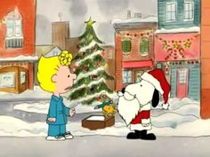 I Want a Dog For Christmas, Charlie Brown - YouTube