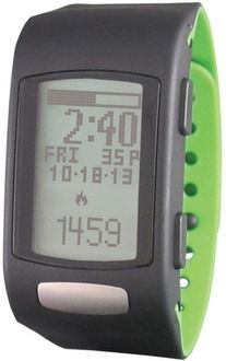 LifeTrak Move C300 Activity Tracking Watch (Black/Green)