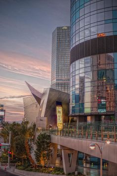 Sunrise City Center Las Vegas Photograph by Stephen Campbell