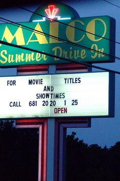 Malco Summer Drive-In.....Memphis, Tennessee