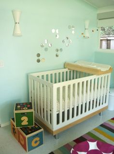 Claires Wall Color: Sherwin Williams Bubble SW6770