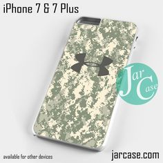 under armour iphone 7 case. under armour camo 5 phone case for iphone 7 and plus iphone
