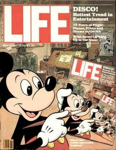 Mickey Mouse ~ Nov. 1, 1978 issue.
