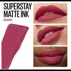 Mac Lipstick Shades, Red Liquid Lipstick, Crayon Lipstick, Bright Lipstick, Mauve Lipstick, Maybelline Superstay, Maybelline Matte Ink, Maybelline Makeup, Makeup Kit