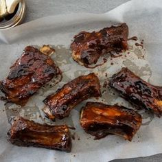 Marinated Pork Spare Ribs