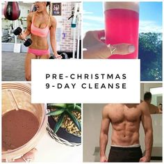 18 more sleeps till Christmas!! That might scare some of you that haven't finished all of your shopping (I hear ya!) but the good news is there's still plenty of time to sneak in a 9 day cleanse!  So many of the team are already half way through their first 9 days getting amazing results and I remember how great it felt this time last year after having done mine.  This isn't about deprivation at all.. rather it's about giving your body the highest quality nutrients through superfood…