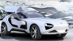 eXtremes conceptcar by Marianna Merenmies #design #car #voiture #transport #conceptcar #sketch #3d