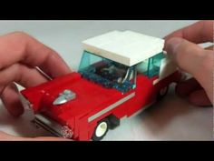 How To Build a LEGO 1955 Chevy Bel Air Coupe (cool 50s car)