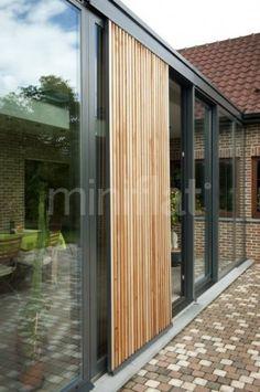 Moderne veranda - Glas veranda