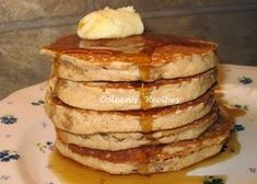 BEST PANCAKES EVER !!! Your family will LOVE these, they are the all time best pancakes.