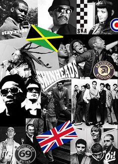 Roots, Rock, Reggae: Original Skinheads and Jamaican Rudeboys Mode Skinhead, Skinhead Reggae, Skinhead Girl, Skinhead Fashion, Ska Music, Reggae Music, Ska Punk, Laurel, Rude Boy
