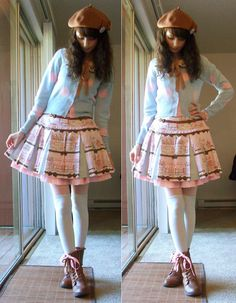 Angelic Pretty Promenade de Paris skirt 2013