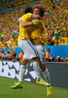 David Luiz Photos: Cameroon v Brazil: Group A - 2014 FIFA World Cup Brazil