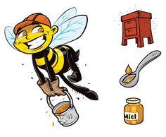 ¿Por qué las abejas producen miel?
