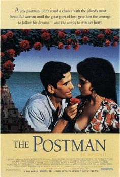 I love this movie with 1,000 hearts! Massimo Troisi, one of Italy's most beloved comic actors, plays a darling postman who steers his bicycle along the Italian Mediterranean coast to deliver mail to his sole client, the Nobel Prize winning poet, Pablo Neruda. Massimo actually died shortly after making this film due to heart failure. He was so beloved in Italy, that they now celebrate his birthday as a national holiday. He literally gave this movie his entire heart.