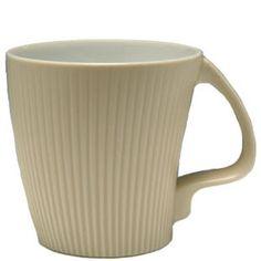 白山陶器 マグカップ ストレッチマグ ベージュ 白山陶器