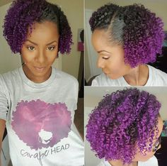 Beautiful purple curls! @krates1913 - http://community.blackhairinformation.com/hairstyle-gallery/natural-hairstyles/beautiful-purple-curls-krates1913/
