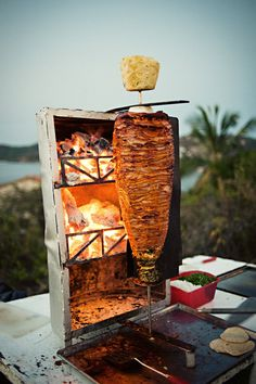 Tacos de trompo! They WILL be at my wedding! :]