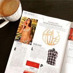 """Morning Marie Claire Février-2015! #belgiandesigner #unique #finejewelry #gold #precious #handmade #naguykashane #followus"