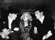 Frederic March, Miriam Hopkins, Gary Cooper: publicity shot for Design For Living (Ernst Lubitsch, 1933)