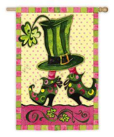 Take a look at this Lady Leprechaun Flag