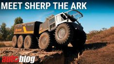 In Russia will start serial production of mass production of the latest Arctic Sherp all-terrain vehicle with a Amphibious Vehicle, Terrain Vehicle, Combustion Engine, Expedition Vehicle, Automobile Industry, Car Wheels, Arctic, Offroad, Transportation