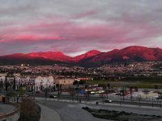 Fotos de Sierra Nevada al rojo vivo