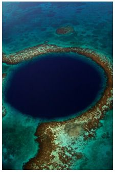 Blue Hole in Belize