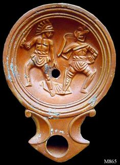 Gladiator Fights, Marshal Arts, Roman History, Minoan, Lucerne, Pompeii, Ancient Rome, Roman Empire, Terracotta