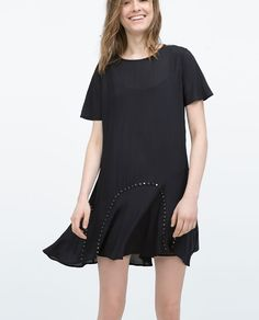 Image 2 of DRESS WITH STUDS from Zara