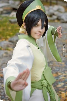 Sorel-Amy as Toph Bei Fong from Avatar: The Last Airbender