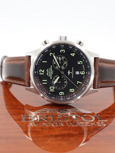 ab0c6083490 Spitfire Tribute Chronograph. Brush Stainless finish