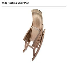 16 Best Rocking Chair Images Carpentry Chairs Wood Projects