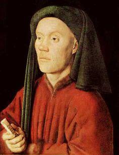 Jan van Eyck, Portrait of a young man (1432)