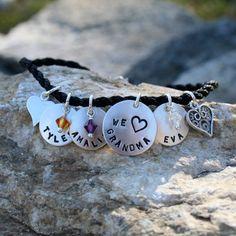 Modern Charm Bracelet for by CharmsofFaith on Etsy, $42.00
