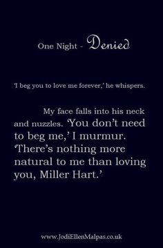One Night Denied By Jodi Ellen Malpas