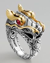 Dragon ring reminds me of my brother