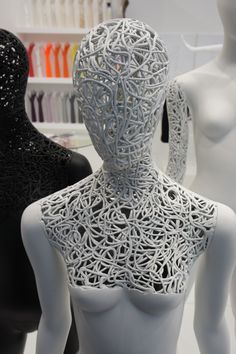Nouveau Mannequins by Panache Display, pinned by Ton van der Veer