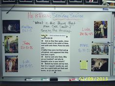 """Put Scripture Mastery Card on the board and """"squeeze"""" it using a variety of questions, cross-references, pictures, and quotes."""