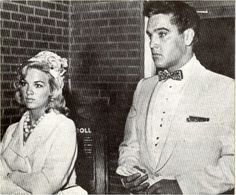 ♡♥Elvis Presley with girlfriend Anita Wood at Red West's wedding on July 1st,1961♥♡