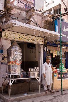The milk shop, Pakistan