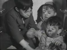 1938 - 'CANNED FISHING'       Alfalfa, Spanky, and Junior