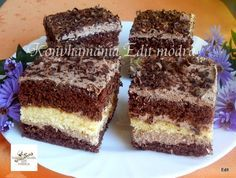 Érdekel a receptje? Kattints a képre! My Recipes, Dessert Recipes, Cooking Recipes, Yami Yami, Cake Cookies, Tiramisu, Biscuits, Cheesecake, Good Food