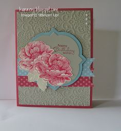 Great Stampin' Up! Card