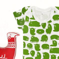 Baby T shirt - Monsters $12