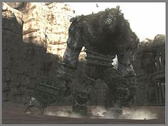 Shadow Of The Colossus, Dnd Art, Im In Love, Mount Rushmore, Samurai, Lion Sculpture, Statue, Mountains, Travel