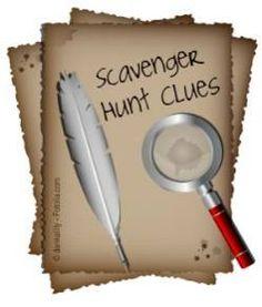Scavenger Hunt Clues - How to Write Scavenger Hunts